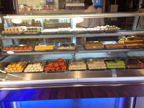 Lily's Vegetarian Indian Restaurant: Sweets Counter