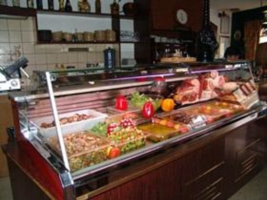 La Caravelle Restaurant-Pizzeria : NOTRE VITRINE