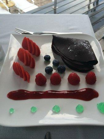 Hôtel Le Pinarello : Plié au chocolat