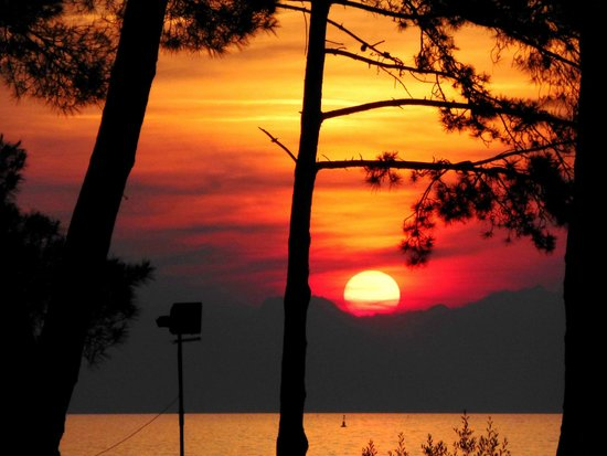 Melia Coral: Sonnenuntergang vom Zimmer aus zu sehen
