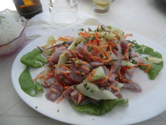 Snack Mahana: Poisson cru