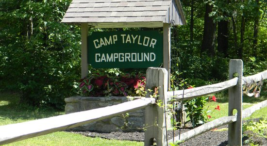 Camp Taylor: Roadside entry
