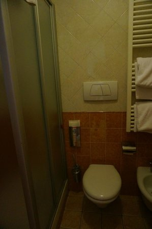 Hotel Mia Cara & Spa: В ванной комнате