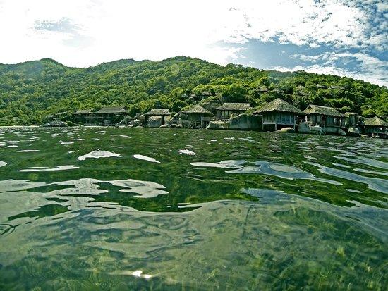 Six Senses Ninh Van Bay : water villas
