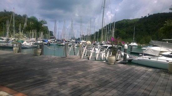 Vivanta by Taj Rebak Island, Langkawi: had to get on da boat from here