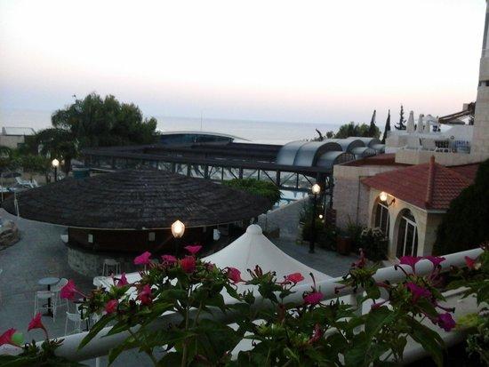 Atlantica Bay Hotel: from the terrace