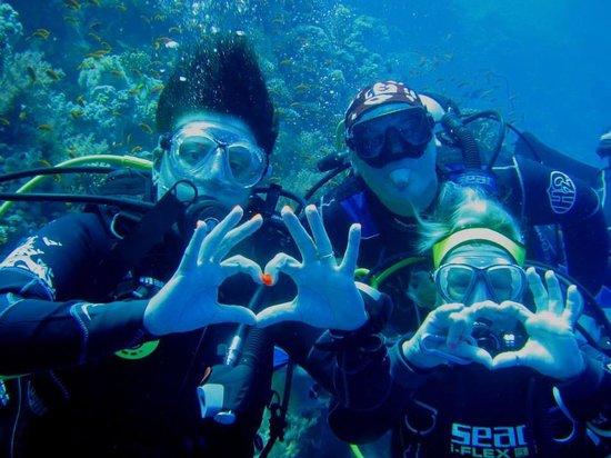 Diving Center Dive Club Italiano : Io, Anto e il simpaticissimo Davide