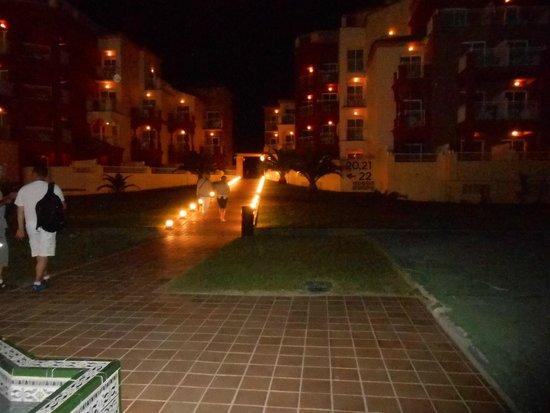 Hotel Pueblo Camino Real : Bloc 20 et 21 la nuit