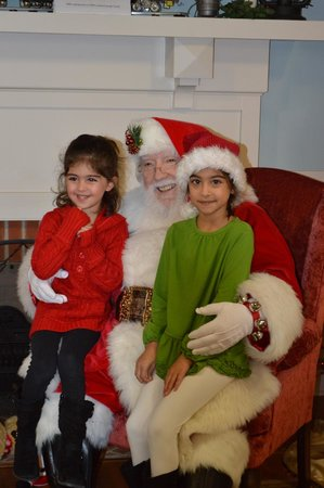 Aiken Visitors Center and Train Museum: Santa at the Depot