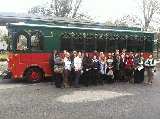 Aiken Visitors Center and Train Museum: Come take our Trolley tour!