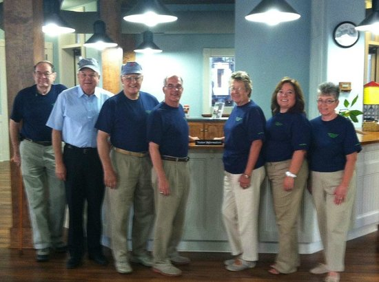 Aiken Visitors Center and Train Museum: Our docents are here to welcome you!