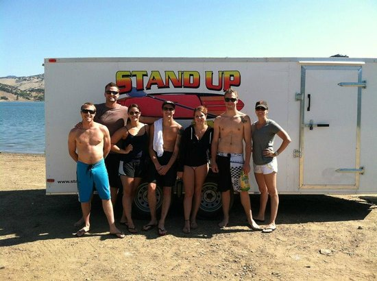 Our second tour with Stand Up Ashland, family and friends!