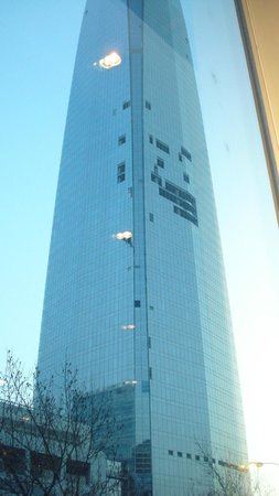NH Collection Plaza Santiago: Gran Torre Costenera