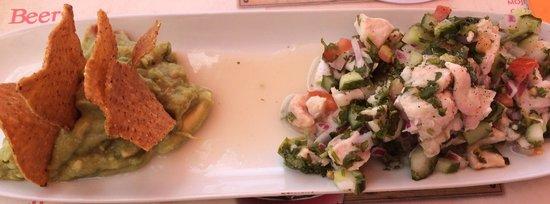 Jalapenos: Ceviche del menu