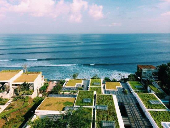 Anantara Uluwatu Bali Resort : view from the restaurant