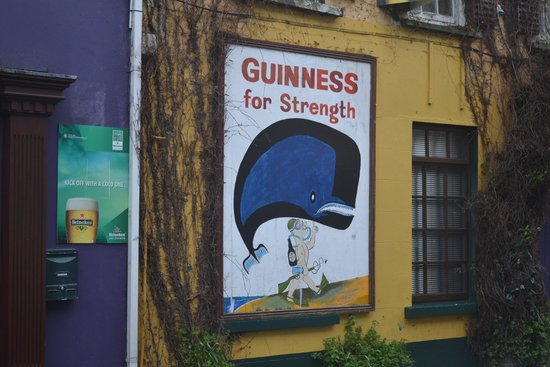 Kinsale Heritage Walks : Superman? I Got This, I Drink Guinness!