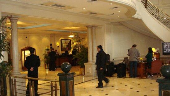 NH Collection Plaza Santiago: Lobby da Recepcao