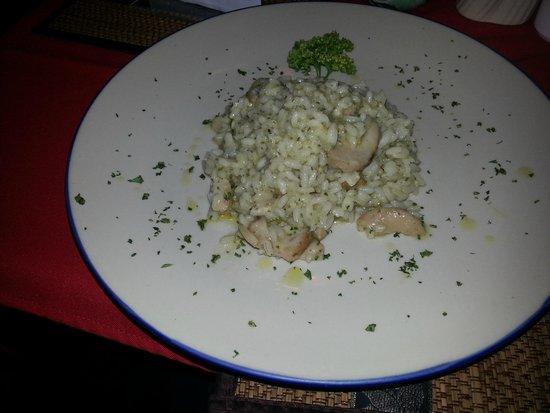 La Luna Italian Restaurant: rissoto fungi