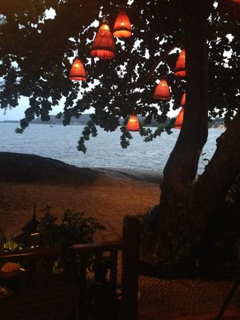 Rocky's Boutique Resort: The vew from my room