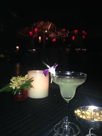 Rocky's Boutique Resort: The first of 'a few' margaritas during the week!