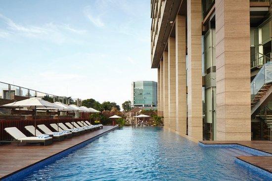 Outdoor Infinity Pool Picture Of Fraser Residence Menteng Jakarta Tripadvisor