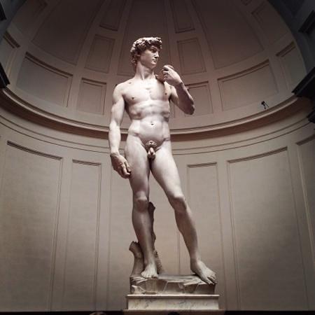 Galleria dell'Accademia : David!