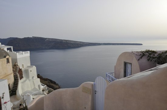 Kastro Oia Restaurant: View from our table