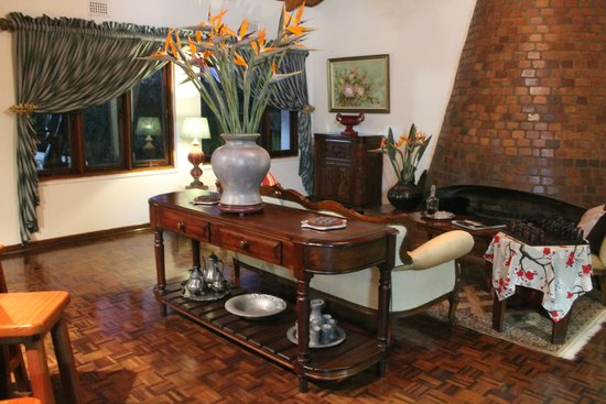 St. Lucia Wetlands Guesthouse: salotto