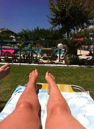 Garden Hotel: Relaxing