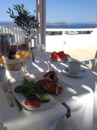 Celestia Grand: завтрак