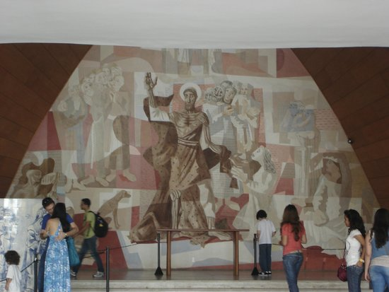 Igreja Sao Francisco De Assis: Pintura do Cândido Portinari