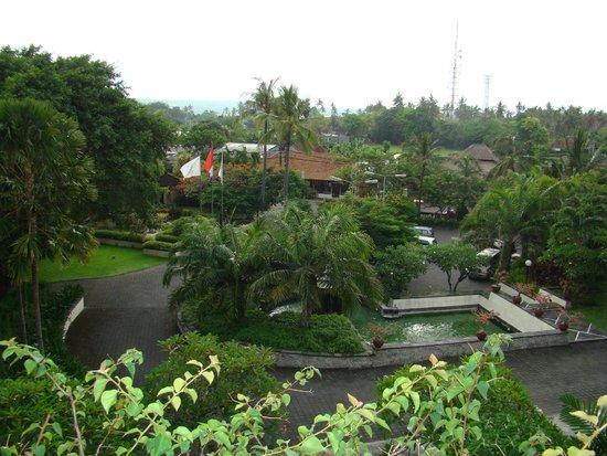 Grand Mirage Resort: Вид из окна
