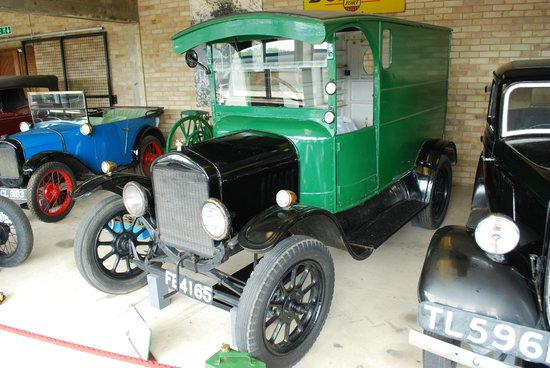 Caister Castle Motor Museum: Ford Model T (vans obviously available in colours other than black)