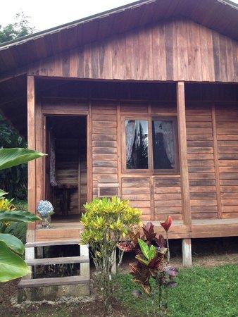 Cataratas Bijagua Lodge: La habitación integrada en el paisaje