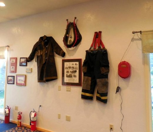 The Old Firehouse : Wall decor