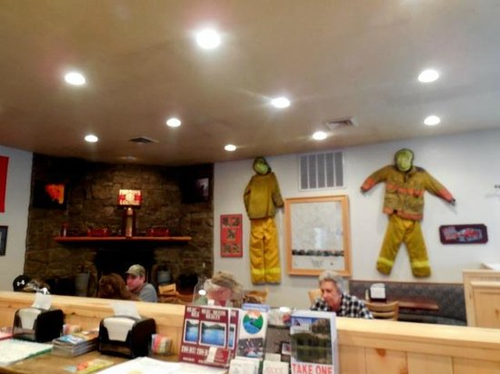 The Old Firehouse : Authentic firefighter's gear
