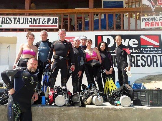 IDive at SeaView Divers: Si sfiamma!