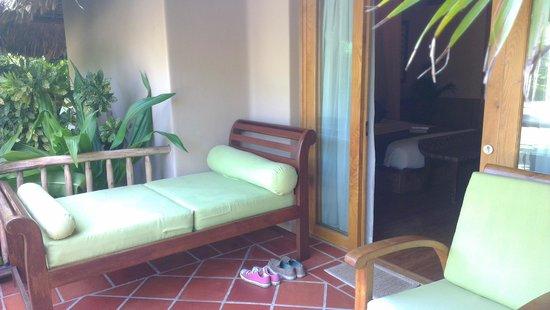 Mia Resort Mui Ne: Outside our room