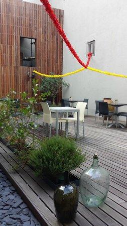 Casa dos Loios by Shiadu: The terrace