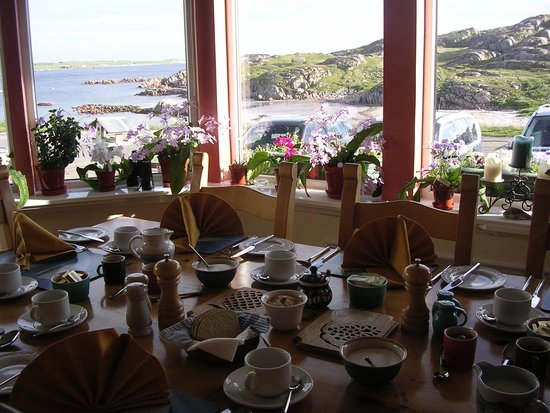 Seaview Bed & Breakfast: View from the breakfast room