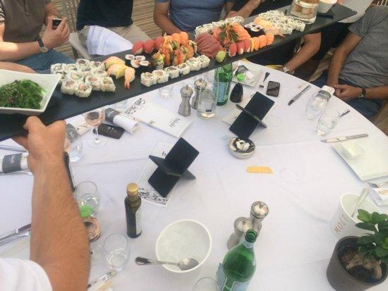 Baoli Beach Restaurant : Bring on the Sushi-Platter!