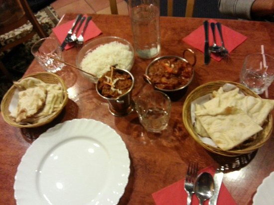 Indian Summer Restaurant: A nice dinner menu