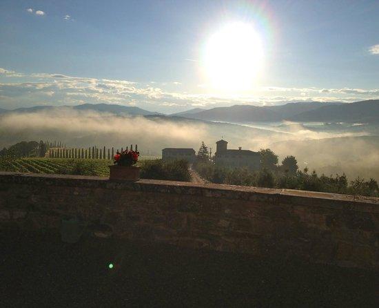 Castello di Gabbiano: View from front of castle