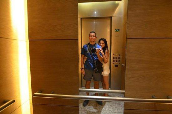 Oasia Hotel Novena, Singapore by Far East Hospitality: In the Elevator