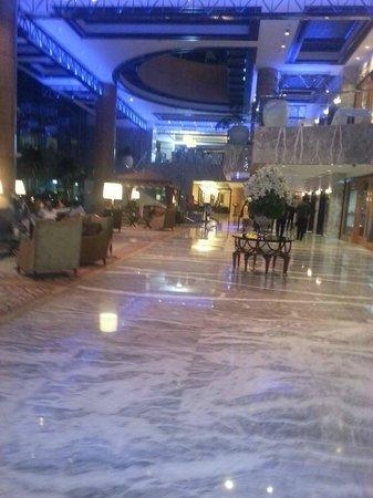 Jood Palace Hotel Dubai: the lobby, extremely opulent