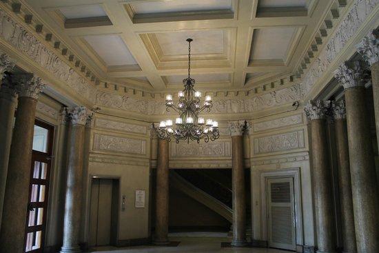Museo Nacional: the lobby