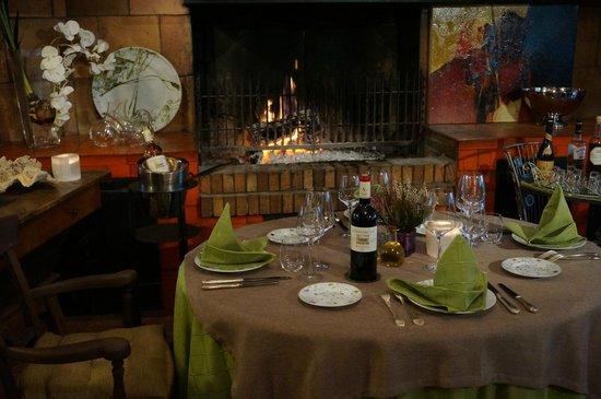 La Table du Vigneron: ambiance hivernale chaleureuse