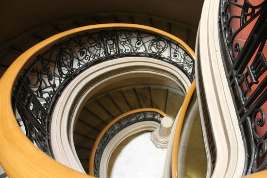 National Museum: The Winding Staircase