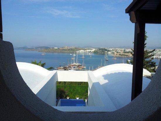 Hotel Manastir : Baia vista do apartamento
