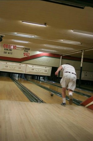 Beverly Bowl-O-Mat: Author Bowling